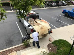 Carpet Removal Service Truck Load In San Diego, CA